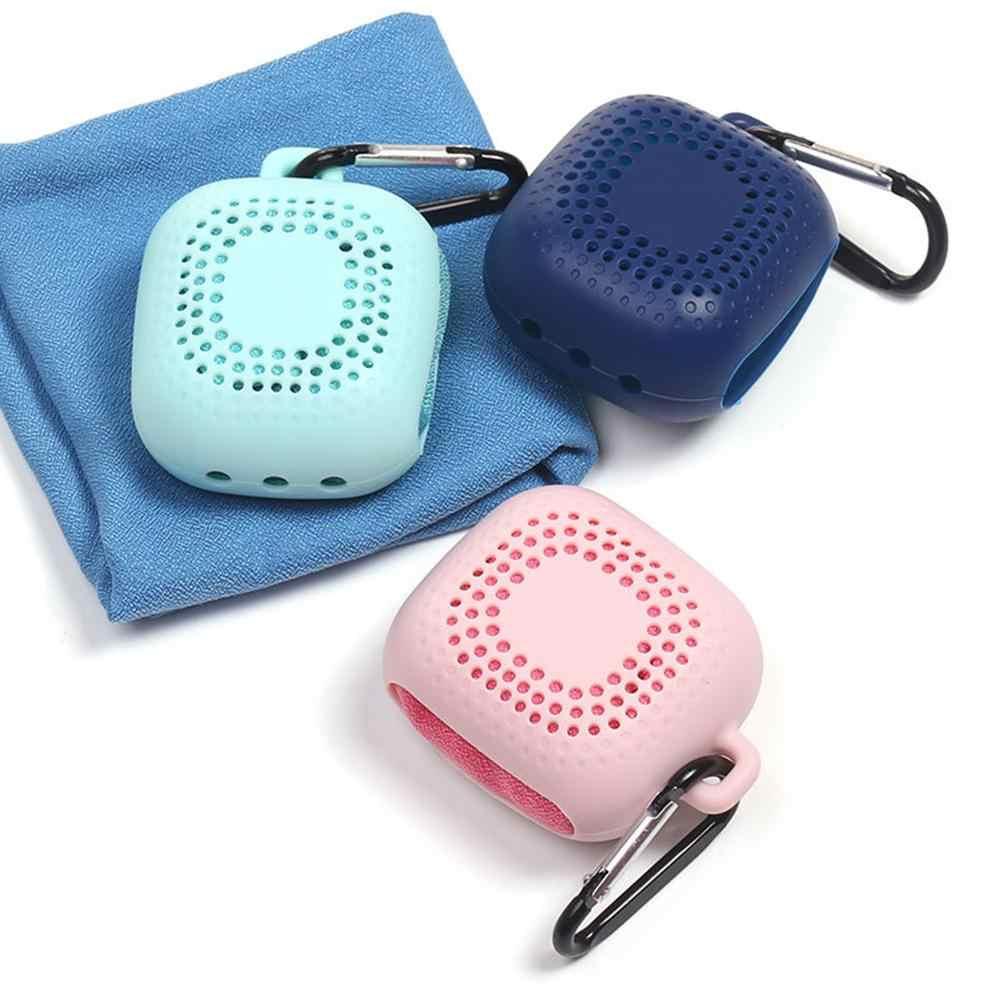 Ręcznik z mikrofibry przenośny ręcznik sportowy szybkoschnący pot chłodzenia do biegania ręcznik nadaje się joga Fitness podróży Camping ręcznik