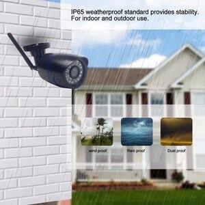Image 2 - 1080P kablosuz kablolu IP kamera CamHi Wifi IP kamera açık 720P Onvif SD kart yuvası hareket algılama alarmı CCTV ev güvenlik için
