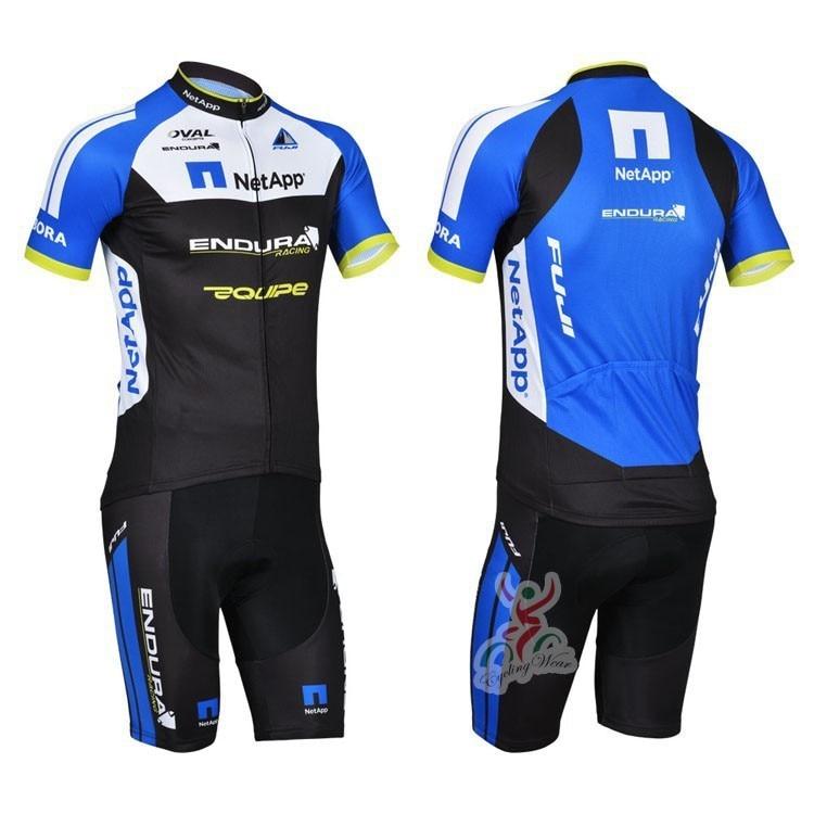 2015 netapp Cycling Jersey MTB Bib Shorts ropa Ciclismo Short Sleeve  Bicycle Bike Wear fuji cycling clothing fca9d8ed0