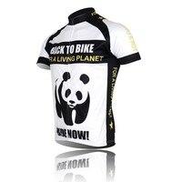 Nuova Panda Cycling Jersey Bici Manica Corta Top Camicia Abbigliamento Equitazione Giacca Bicicletta Sportwear ciclismo Jersey S-4XL CC0107