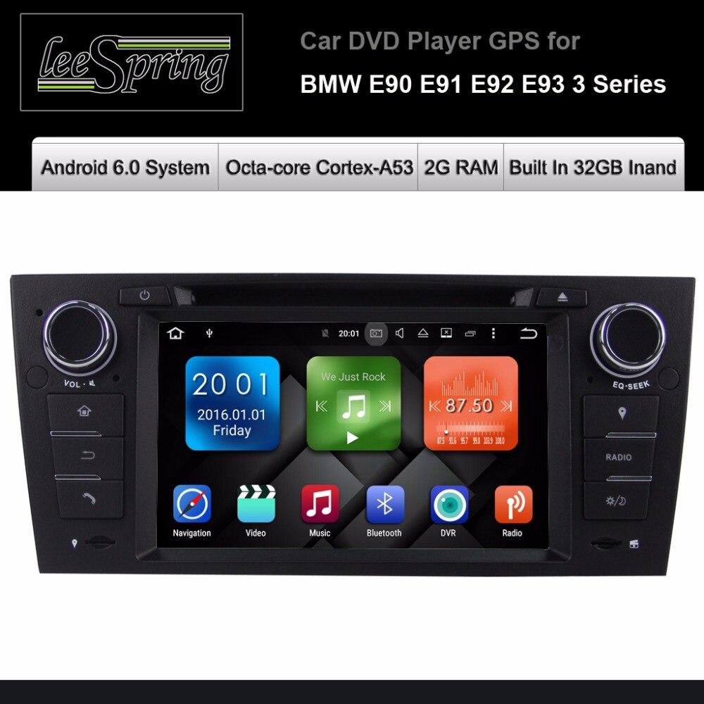 Android 6.0 dvd-плеер автомобиля для <font><b>BMW</b></font> <font><b>E90</b></font> E91 E92 E93 3 серии Радио GPS навигации Системы