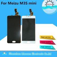 100 New LCD Screen Display Touch Panel Digitizer For 5 Meizu M3s MINI MEILAN M3s White