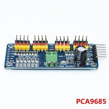 TENSTAR ROBOT 16 Channel 12-bit PWM/Servo Driver-I2C interface PCA9685 module Raspberry pi shield module servo shield
