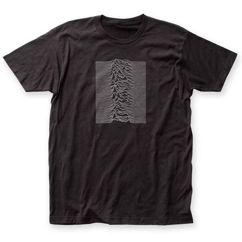 8411cf0b9 Joy Division Unknown Pleasures Album Record Cover 2 Sided T-shirt S M L XL  2XL free