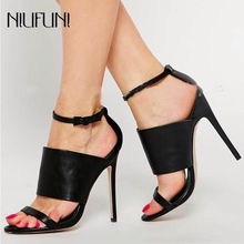 Sexy Gladiator Woman Sandals Summer Women Open Toe Stilettos High Heels Shoes Ladies Party Sandals Black Fashion Dress Shoes aneikeh high heels sandals women summer shoes elastic band open toe gladiator wedding party dress shoes woman sandals apricot