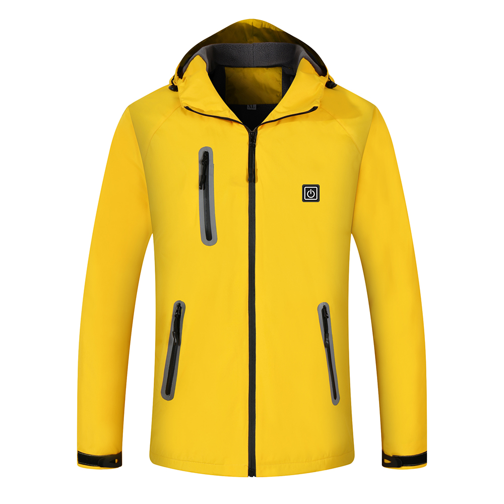 Mens Fleece Jackets Waterproof Winter Heated Jackets Thermal Skiing Coat Hiking Jacket Dropshipping New 2018 Hot Selling Camping & Hiking Hiking Clothings
