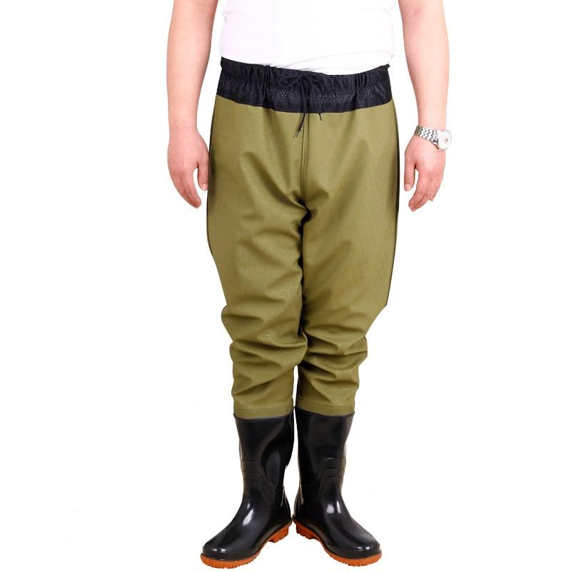 alta salto camuflagem tatico roupas de pesca ropa pant a prova dwaterproof agua 0 7mm pvc