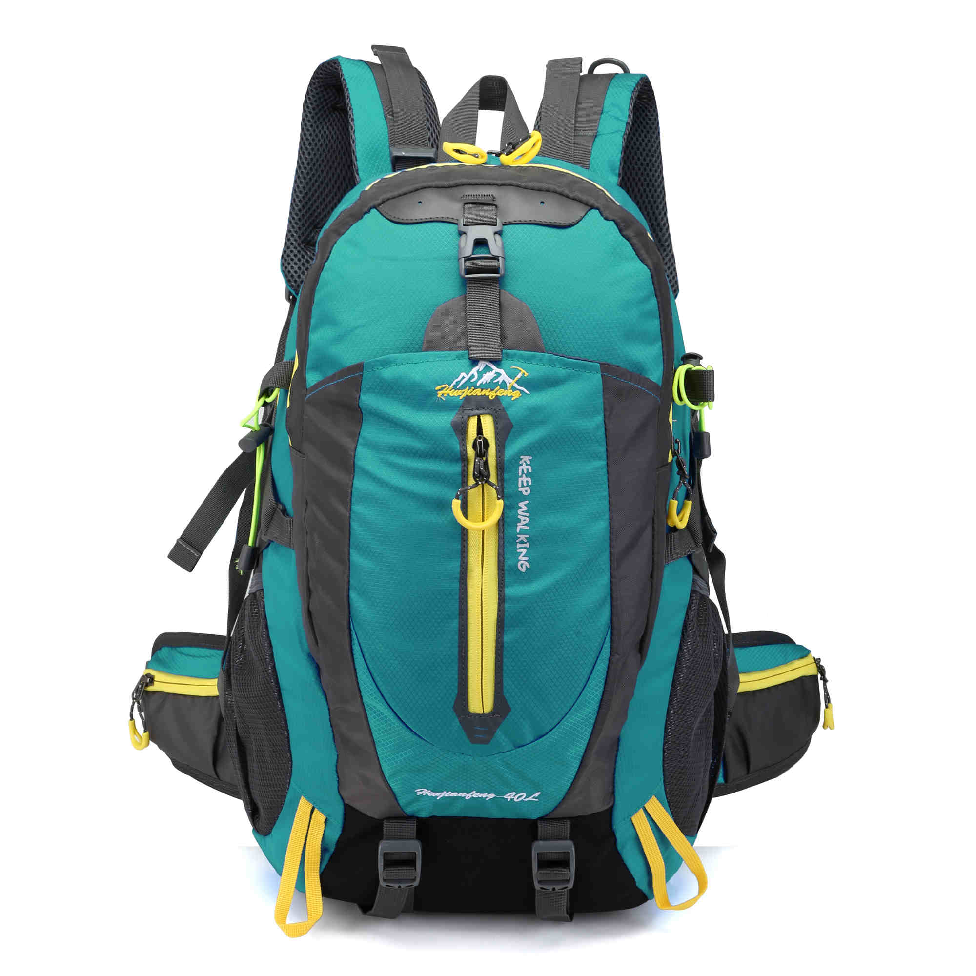 40L Waterproof Climbing Bag Travel Backpack Bike Bicycle Bag Camping Hike Laptop Daypack Rucksack Outdoor Men Women Sport Bags