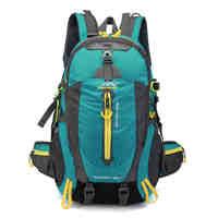 Bolsa de escalada impermeable para hombre y mujer, mochila de viaje para bicicleta, Camping, senderismo, portátil, para exteriores