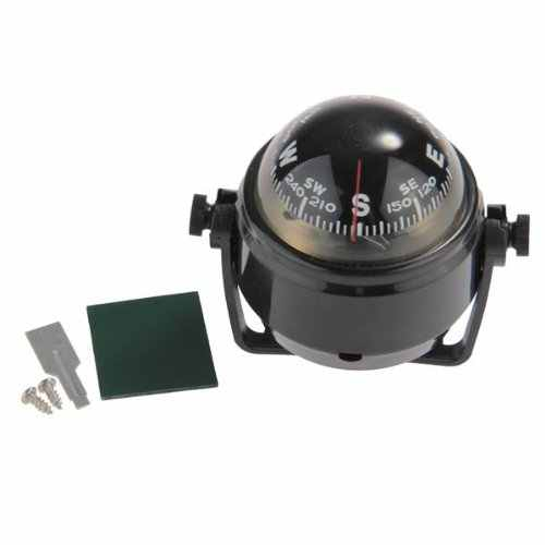2018 NEW Pivoting Compass Dashboard Dash Mount Marine Boat Truck Car Black