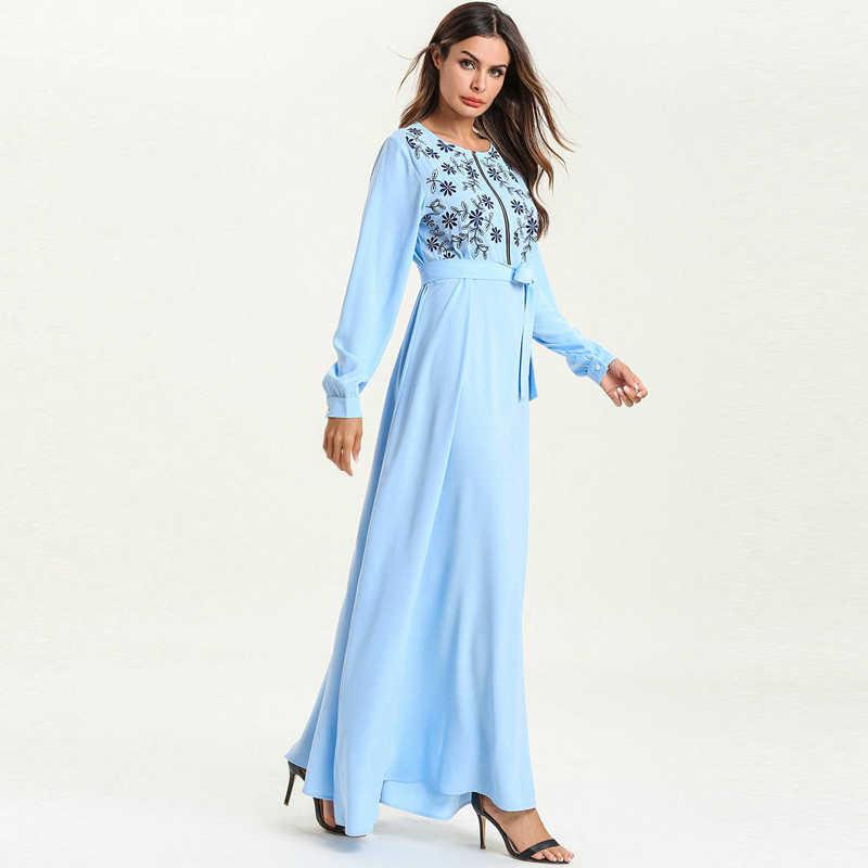 Abaya Qatar UAE Omán turco Elbise islámico Malasia musulmán Hijab vestido Abayas para mujer bata muselmane Kaftan Dubai ropa