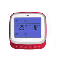 Free Shipping High Quality LCD Screen Display Programmable Underfloor Room House Heating Thermostat