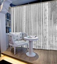 tree curtains photo Blackout Window Drapes Luxury 3D Curtains For Living room Bed room Office Hotel Home white curtains beige polyester flannel europe embroidered blackout curtains for living room bedroom window tulle curtains home hotel villa