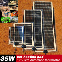 New Selling 35W 55*25CM Armer Bed Mat Pad Amphibians Adjustable Temperature Pet Reptile Heating Heater Dog Heat Pad For Sale