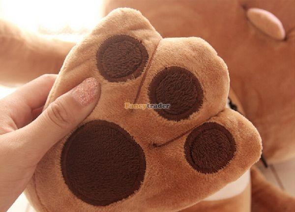 Fancytrader 35\'\' 90 Korean TV Soaps Plush Stuffed Lzay Dinga Cat, Free Shipping FT50250 (11)