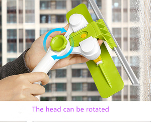 Image 5 - Hot Upgraded Telescopic High rise Window Cleaning Glass Cleaner Brush For Washing Window Dust Brush Household cleaning tools