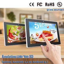 Android New 10 inch All In One PC multi-media touchscreen pc Intel RK3188 quad core with 10 point touch capacitive touch