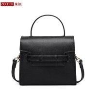 Потери продаж Женская сумка zooler брендовая натуральная кожа сумки свадебное сумка из воловьей кожи 100% женская сумка Bolsa feminina # B111
