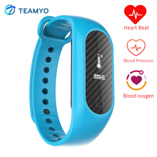 Teamyo B15S фитнес-трекер часы кровяное давление Кислорода монитор сердечного ритма pulsometro pulsera inteligente умные запястье