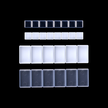 0.5/3.2ML 20/50Pcs Artists Empty Watercolor Paint Pans Painters Pigment Box Case Art Palette Supplies - discount item  20% OFF Art Supplies