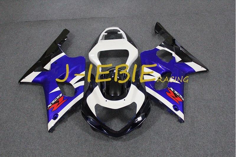 Black white blue Injection Fairing Body Work Frame Kit for SUZUKI GSXR 1000 GSXR1000 K1 2000 2001 2002
