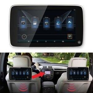 Автомобильные мониторы 10,8 ''ультра-тонкий сенсорный экран Android подголовник плеер для BMW Встроенный Bluetooth 8 ГБ флэш-память 1 шт
