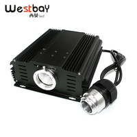 AC110V or 240V 45W WIFI led optic fiber light engine, smart phone APP software light engine for sauna lighting solution