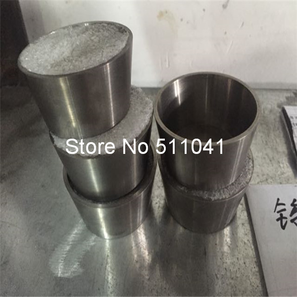New  high quality Tungsten crucible 99.96% purity 2mm thickness 25mm height OD 52mm 5pcs wholesale Paypal is available купить