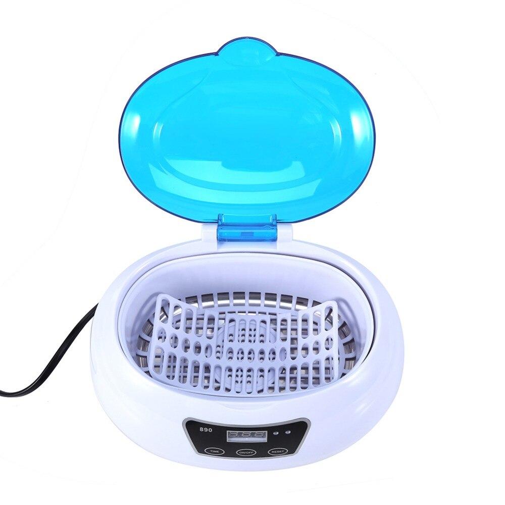 Blaue Farbe 220 V 600 ml Digitale Ultraschall Tank Reiniger Schmuck ...