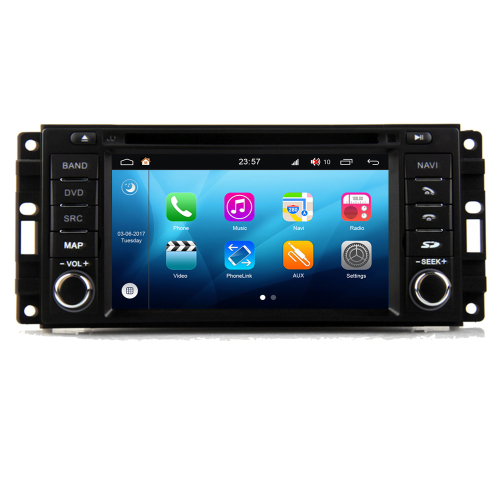 RoverOne Android 8.0 Car Multimedia System For Dodge Durango 2008 - 2011 Radio Stereo DVD GPS Navigation Media Music Head UnitRoverOne Android 8.0 Car Multimedia System For Dodge Durango 2008 - 2011 Radio Stereo DVD GPS Navigation Media Music Head Unit