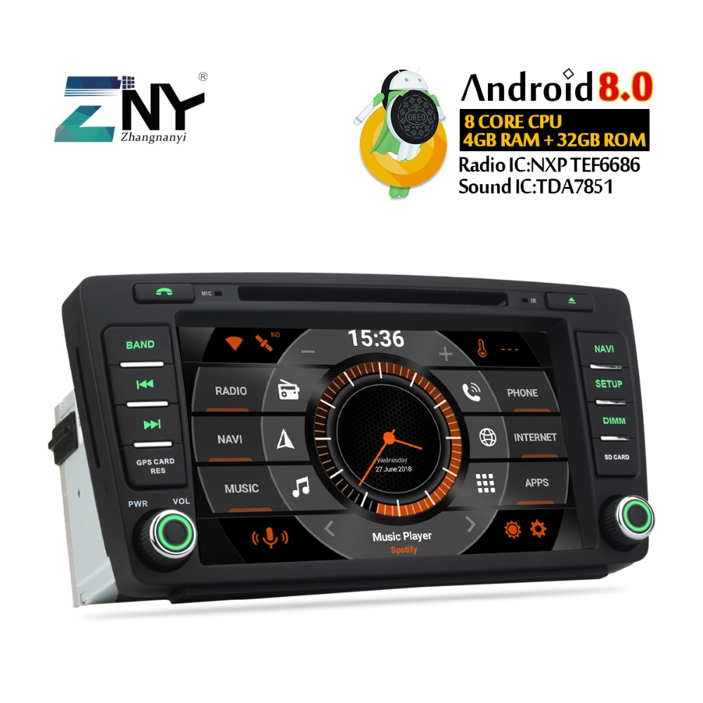 8 IPS Affichage Android 8.0 Voiture GPS Pour Skoda Octavia 2 Octavia A5 auto-radio FM DVD Navigation WiFi Stéréo livraison caméra de recul