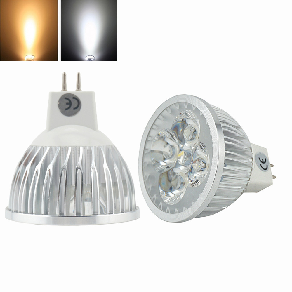 Halogen Spotlight Bulbs Us 4 99 Led Mr16 4w Led Light Bulbs Bi Pin Gu5 3 Spot Light 12 Volts 50w Halogen Replacement In Led Bulbs Tubes From Lights Lighting On