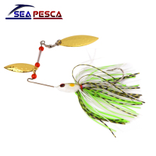 SEAPESCA Metal Sequins Lure Wobblers Sinking Fishing Lures Spinner Bait 17g Bass Fish Fishing Tackle ZB108