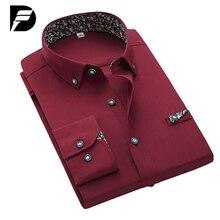 Новый Бренд Мужская Черная Рубашка Мужской Моды Твердые Мужские Повседневный Роскошные Мужчины Платье Рубашки Camisa Masculina Плюс Размер S-4XL