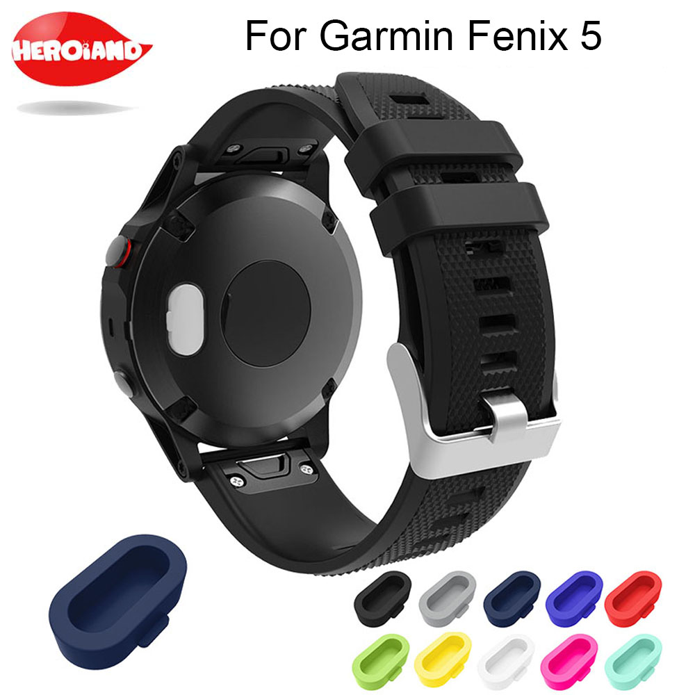 Best price High quality dust plug function good designer protector For Garmin Fenix 5/5X/5S smartwatch Silicone cover high quality arm hd screen protector for iphone 5 5s transparent 50pcs