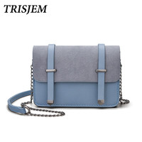 TRISJEM Women Chain Messenger Bags Mini Shoulder Bag Women Small Bag For Girls Female Clutch Sac
