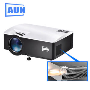 AUN AKEY1 Android 6 portable Video LCD Digital HDMI USB AV SD mini LED Projector