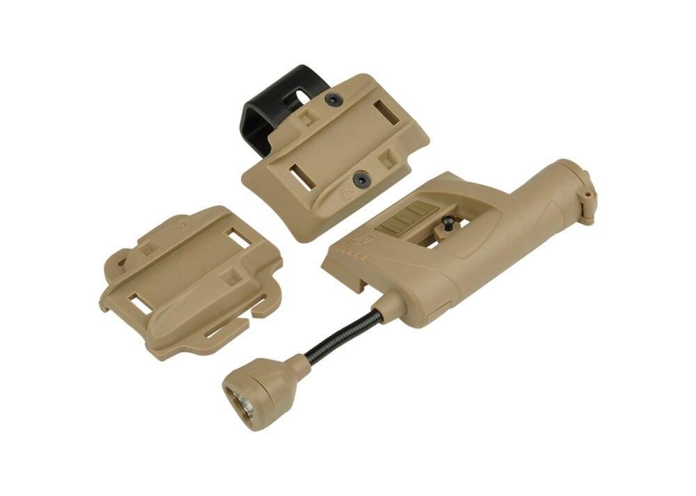 WIPSON Night Evolution Charge MPLS Helmet Light Illumination Tool Outdoor Hunting Military Light tactical light