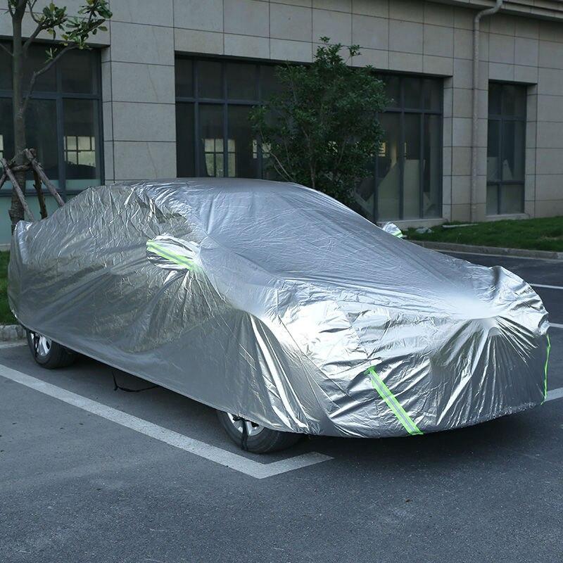 Bâches de voiture bâche de voiture extérieure protection solaire imperméable protection solaire automobile pare-soleil pour suv berline accessoires