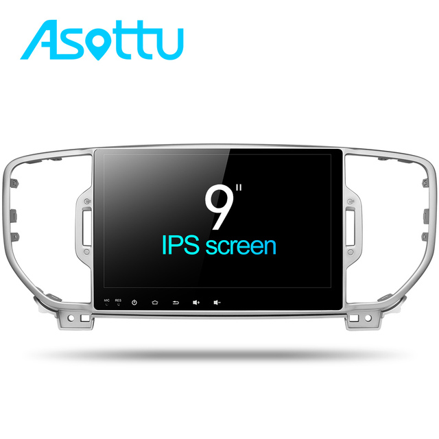 Asottu CKX59060 Android 7.1 Octa Core car dvd player for KIA sportage 2016 2017 car pc gps navigation 1 din car stereo head unit