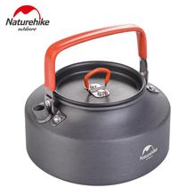Naturehike Outdoor Camping Cookware Kettle Aluminum Alloy Ultralight Tea Pot Camping Trip Tourism Hiking Kettle NH17C020-H outdoor camping cookware survival tactical glass beer mug promotion separation aluminum alloy black water cup for tourism