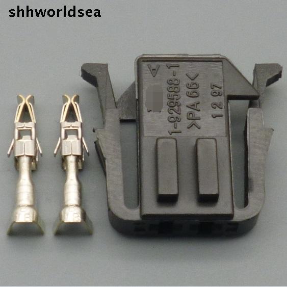 Shhworldsea 5/30/100 комплекты 3.5 мм 2Pin способ автомобильный разъем 191 972 702