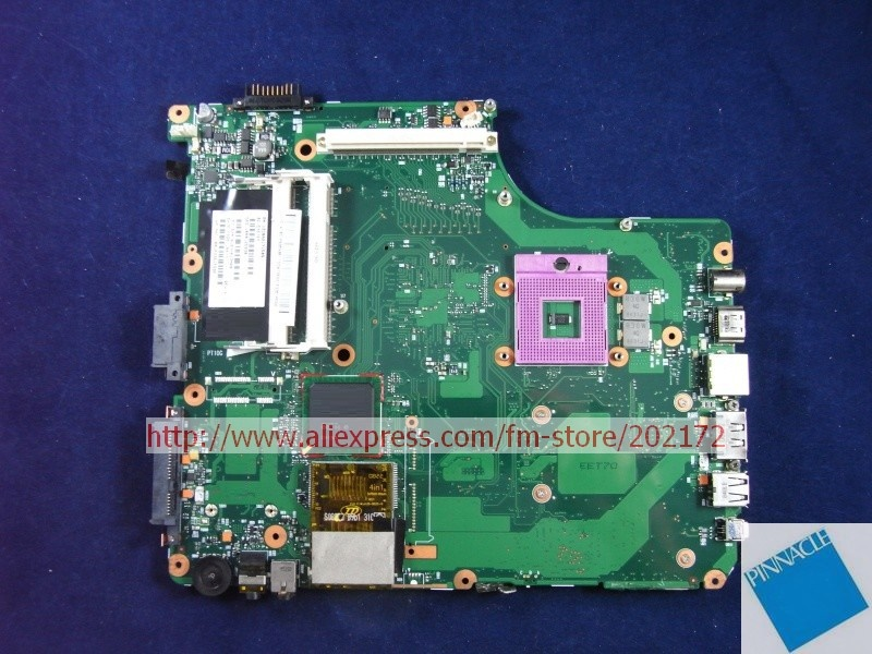 все цены на V000125930 motherboard for Toshiba Satellite A300 A305 motherboard 6050A2171501 онлайн