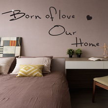 INS Acrylic Mirror Wall Stickers Queto Motto Sticker For Bedroom Living Room Background Art Home Decor