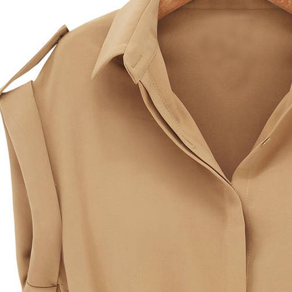 HTB1jh.9cB1D3KVjSZFyq6zuFpXab Women Casual Summer Shirt Dress Summer Dress 2019 Loose Short Sleeve Dress With Belt Turn Down Collar Autumn Dress Vestidos #20