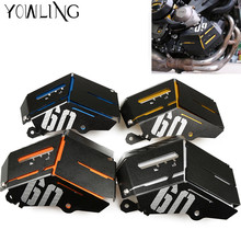 Motorcycle MT 09 Water Coolant Recovery Tank Shield Guard Radiator Side Cover Protector For Yamaha MT-09 MT09 FZ-09 2014 - 2017