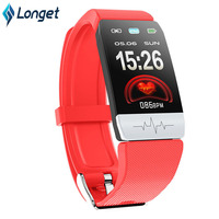 Longet Q1S Sport Fitness Watch ECG PPG Blood Pressure Weather Smart Watch Waterproof Sleep Monitor Activity Tracker for Running