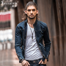 2017 New Style Men's Denim Jacket Vintage Men Slim Fit Jeans Jackets Spring Fashion Jackets Brand Clothing Plus Size M-3XL A812