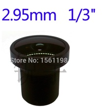 2.95mm cctv board ip cameras lens m12 for Surveillance camera 3mp lens 650ir filter