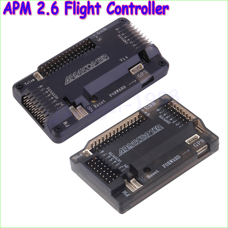 Image 4 - APM2.8 ArduPilot Mega 2.8 APM Flight Control Board with Protective Case for Rc Multicopter Airplane-in Parts & Accessories from Toys & Hobbies